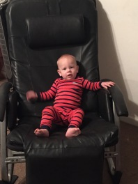 he LOVES this massage chair