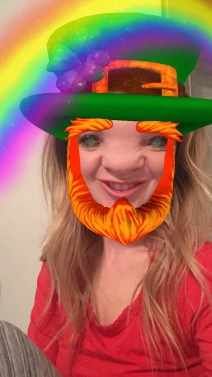 getting ready for St. Patricks day